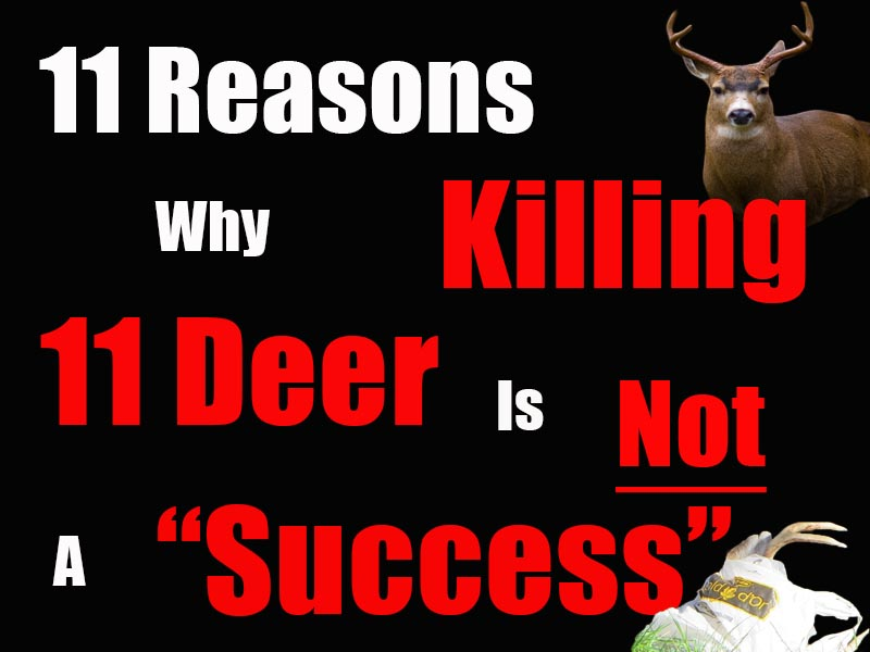 "11 Reasons Why The Oak Bay Deer Cull Is Not A ""Success."""